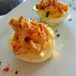 Crossings - Crawfish Salad Deviled Eggs - Photo by Eunice C.