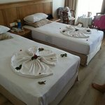 Our maid did this for us the day before we left. She was lovely!