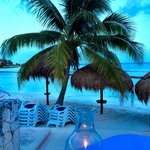 Romantic Table for Two on the Sand!