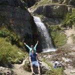 The beautiful falls!