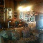 Inside the Inn.