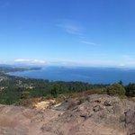 180 degree panorama at the summit