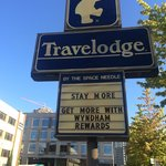 Travel Lodge Sign