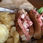 OUTSTANDING LOBSTER ROLLS! Yes that's right in Michigan on Lake Charlevoix! Fantastic menu and t