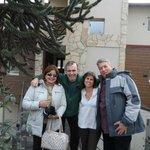 Sônia, Luis, Paula e Cláudio