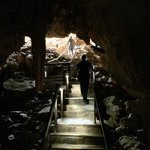 Steps out of caves