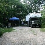 Lovely secluded campsite