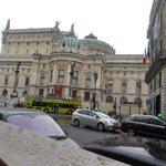 Вид на Оперу от музея Фрагонар