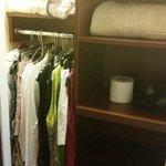 Very small closet