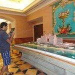 Mini model of the hotel