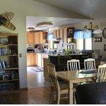 Ocean Bluff kitchen/dining room
