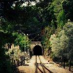 un des nombreux tunnels