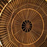 The roof of the Round Barn Theater, Amish Acres, Nappanee, IN
