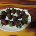Chocolate covered strawberries-were so tasty-must know what kind chocolate you used!!