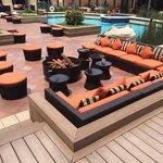 Cozy / fancy pool area
