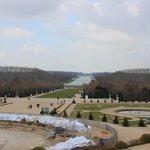 Gran Canal desde El Palacio de Versalles