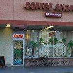 Rivergate Coffee Shoppe outside.