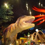 T Rex - entrada do restaurante