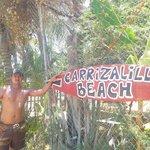 A 300 mts de playa carrizalillo, de las mas hermosas playas!!