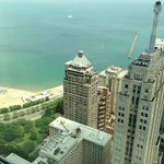 view from the 45th floor room