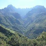 Sur la route d'Ilet à Cordes, beau soleil se miroitant dans les cascades...