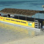 one of the 3 glass bottom boats. Families with young kids and senior citizens go on the biggest