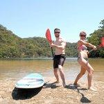 Basin Campground Stand Up Paddle Board Safari