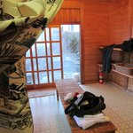 Private Onsen change room