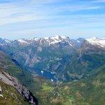 Vue du mont Dalnisbba