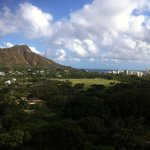 View from Diamond Head View Room