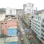 Vista desde la Habitación hacia el Centro de Guayaquil, al fondo el Cerro Santa Ana