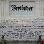 Gravestone of Beethoven