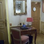 Nice desk in rooms