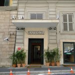 Hotel Corona, Rome, Italy.