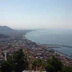 veduta di Salerno dal Castello Arechi