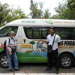 Van and driver