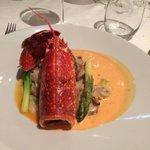 Succulent ! Un délice de homard avec son risotto
