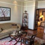 Mini suite #541 sitting area