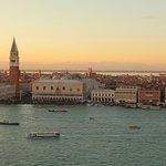 ヴェネチアの夕焼け
