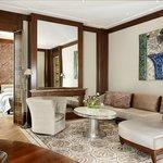 Belle Epoque Suite Living Room