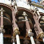 Palau de la Música Catalana outside (art nouveau building)