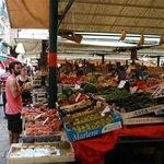 Groenten en fruit in overvloed.