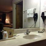 Rooms come with Granite Sinks, Hair Dryers, and Coffee-Makers