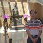 At the statue of Dr Sun Yat Sen my idol!