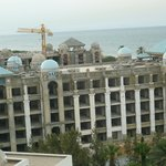 Hotel being built next door to Marharba Palace