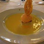 オレンジシャーベット美味