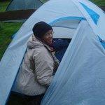 En mode camping...