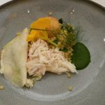 King crab met Siciliaanse pasta (2° voorgerecht)