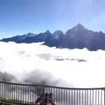 Panorama du sommet du Brévent