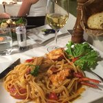 Best lobster linguine ever !!